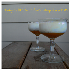 Tuesdays With Dorie_ Vanilla Mango Panna